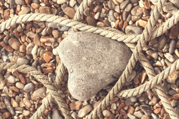 rope, stone, texture, nature, material