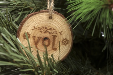 tree, wood, Christmas, decoration, pine tree