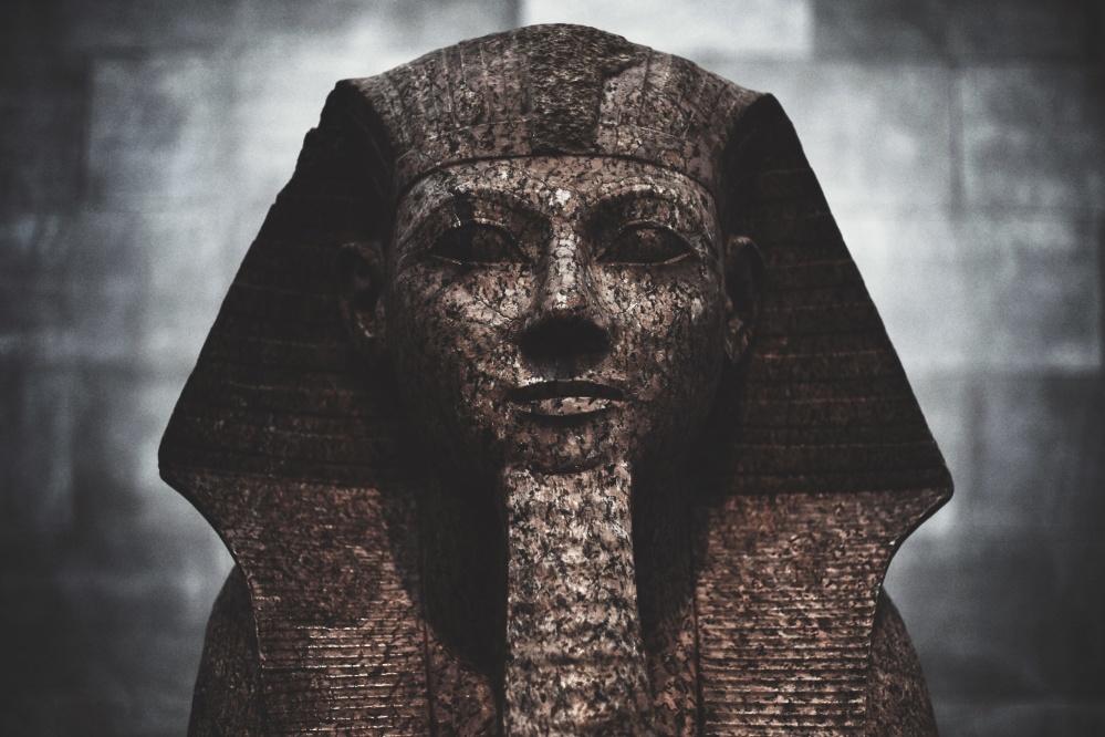 sculpture, Egypt, art, statue, portrait, religion