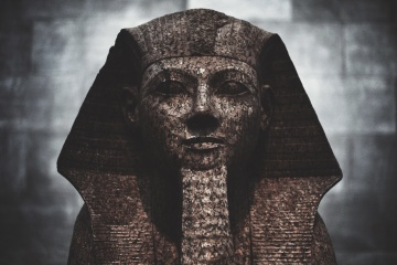 sculpture, Egypt, art, statue, portrait, religion