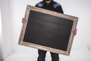 frame, object, man
