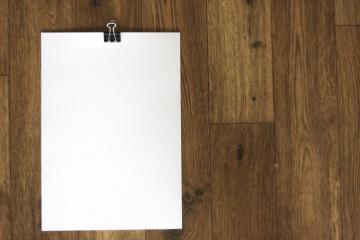 白色纸, 木头, 空白, 木制