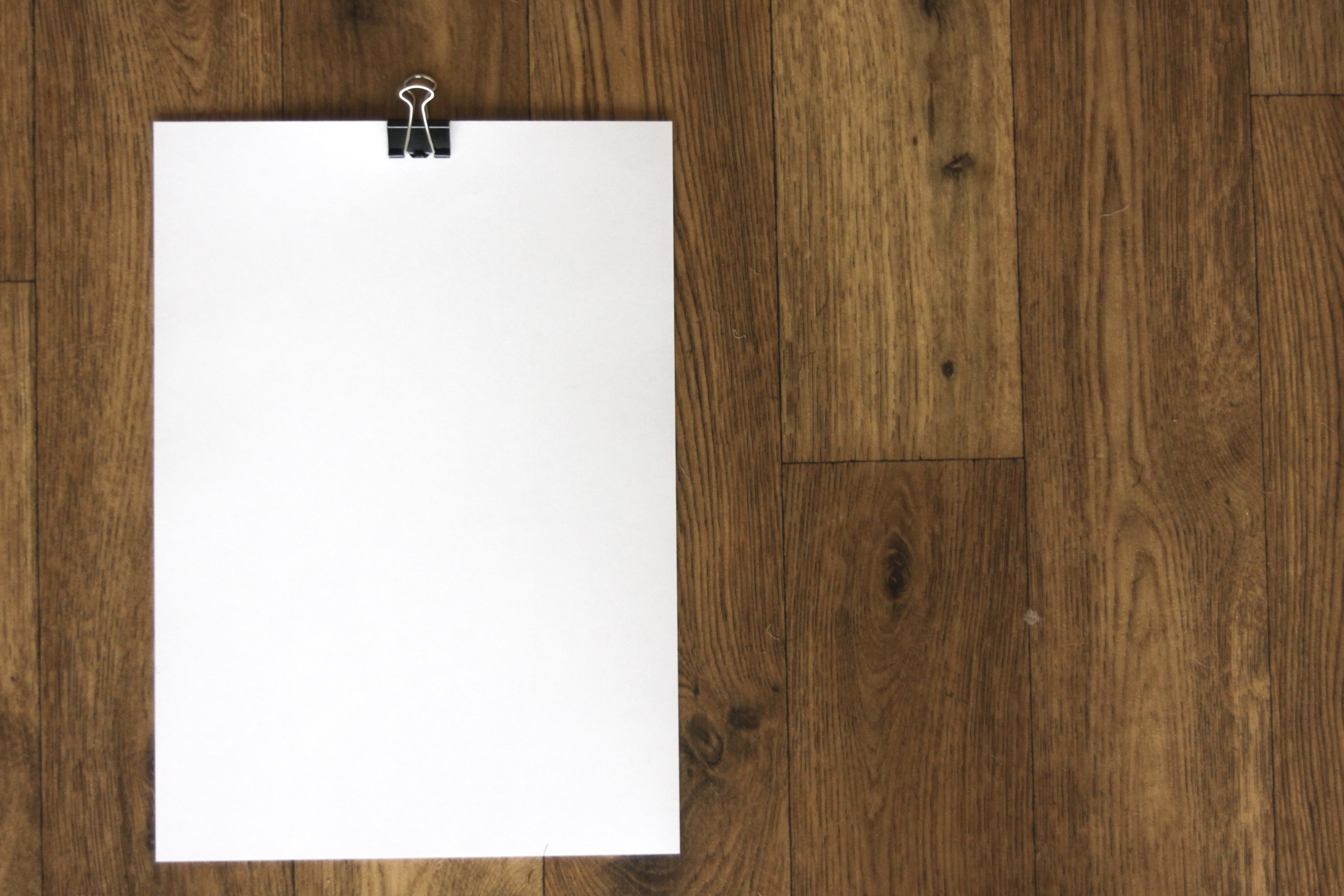 free picture white paper wood blank wooden