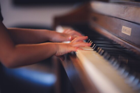 piano, indoors, music, hand, finger