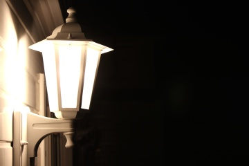 electricity, light, dark, lamp, illuminated, night