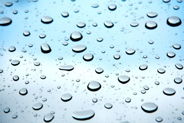 rain, wet, dew, bubble, liquid, turquoise, raindrop, purity