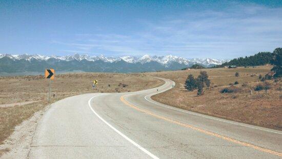 road, landscape, highway, sky, nature, way, asphalt