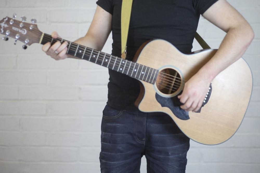 akustisk gitar, musikk, instrument, musiker, lyd, gitarist, sang