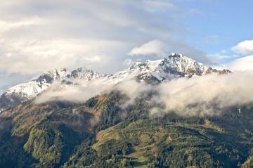 sneh, hory, ľad, krajina, vrch, ľadovec