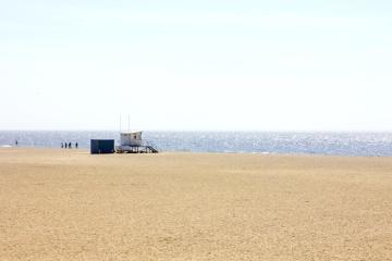 пісок пляжу води, море, берег моря, літо, краєвид