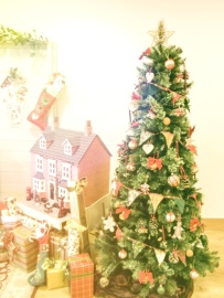 Christmas tree, gift, decoration, celebration, interior