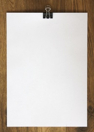 white paper, blank, wood, paper, frame