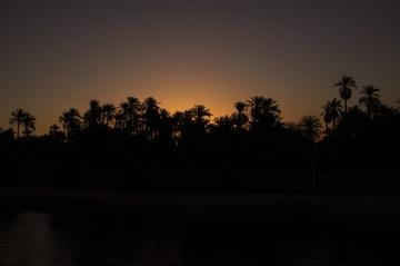 zalazak sunca, s pozadinskim osvjetljenjem, silueta, noć, drvo, Zora, sumrak, sunce
