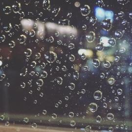 rain, wet, glass, droplet, dew, purity