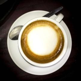 Hrnček kávy, pena, espresso, nápoj, kofeín, šálky, cappuccino, porcelán