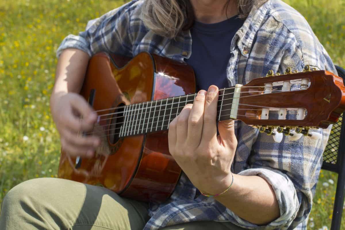 όργανο μουσικής, μουσικός, κιθαρίστας, ρετρό, πορτραίτο, άνθρωπος, μουσική, κιθάρα