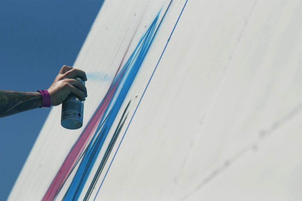 hand, paint, graffiti, wall