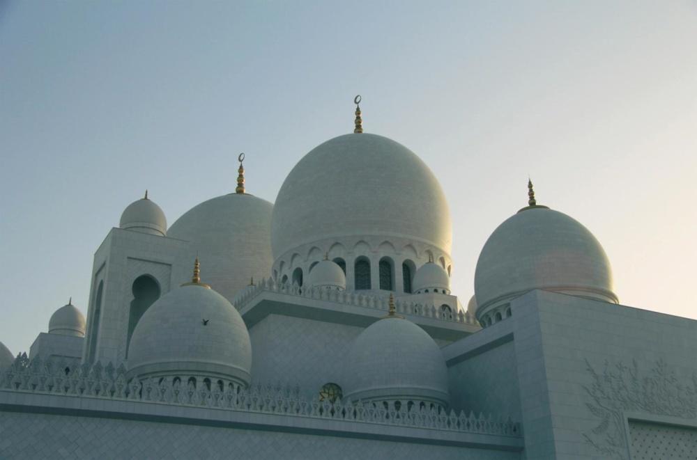Religión, arquitectura, minarete, cúpula, mezquita, estructura, cúpula, exterior
