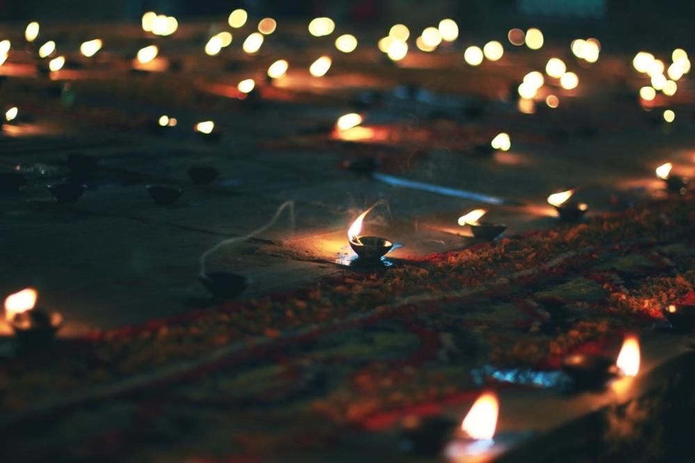 Flamme, Kerze, dunkel, Nacht, Feier