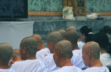 monk, people, religion, man, crowd, religion, Buddhism