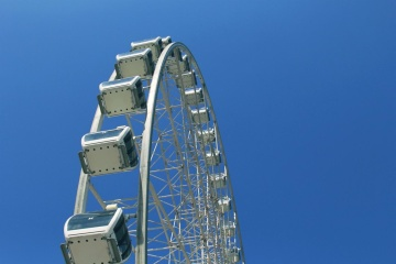 sky, entertainment, architecture, construction, fun, height, carnival