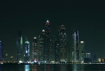 城市, 建筑, 城市景观, 市中心, 天空, 黄昏, 城市, 海滨