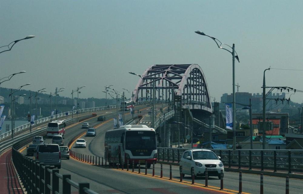 dopravní zácpě, město, ulice, silnice, most, městské, architektura, auto