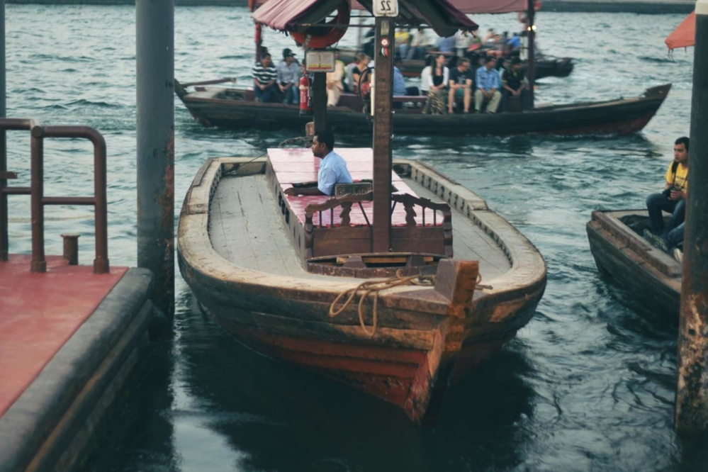 water, watercraft, boat, ship, gondola, people, crowd, Asia