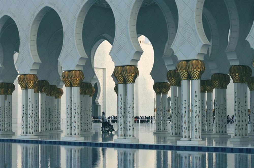 mosque, luxury, religion, arch, exterior, architecture