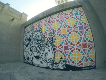architecture, graffiti, wall, colorful, art, decoration, design
