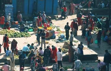 хора, религия, тълпата, пазар, Азия