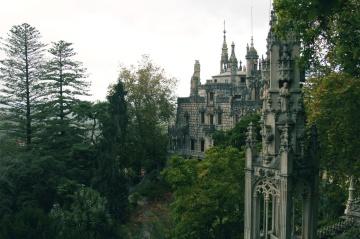 Architecture, château, palais, vieux, ville, tour, ciel, religion