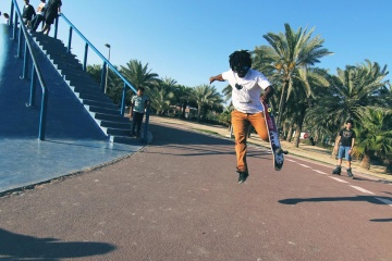 lifestyle, skateboard, sport, exercise, street, recreation, competition, people