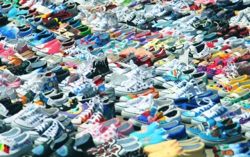sneakers, shoe, colorful, sport shoes