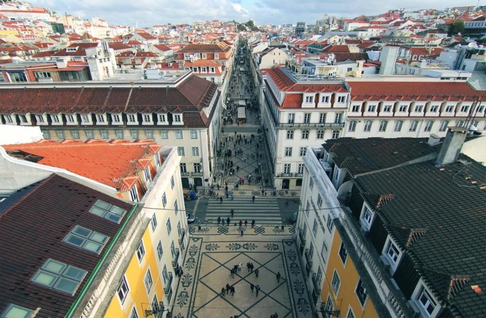 архитектура, покрив, град, градски, центъра, улица, град