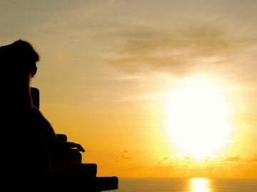 sunset, sun, dawn, silhouette, backlit, dusk, sky, sunrise, summer