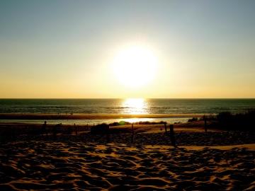 Tramonto, sole, alba, spiaggia, acqua, mare, crepuscolo, oceano, stella, cielo, alba