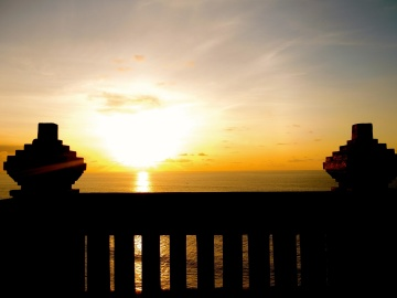 sunset, dawn, sun, dusk, sky, water, sunrise, silhouette