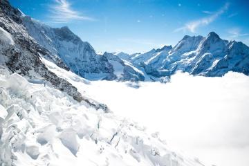 snø, vinter, fjell, is, isbre, kalde, landskap, fjelltopp