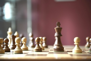 chess, gameplan, queen, knight, victory, competition, strategy