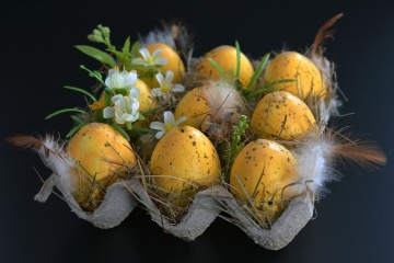 food, easter, decoration, egg, still life