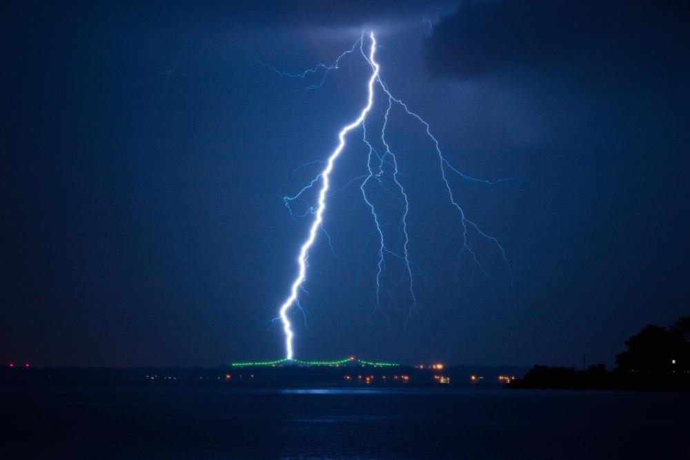 oluja, noć, mrak, kiša, oluja, Grom, munja, nebo