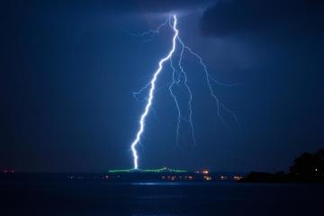 furtună, noapte, întuneric, ploaie, furtuni, tunete, thunderbolt, cer