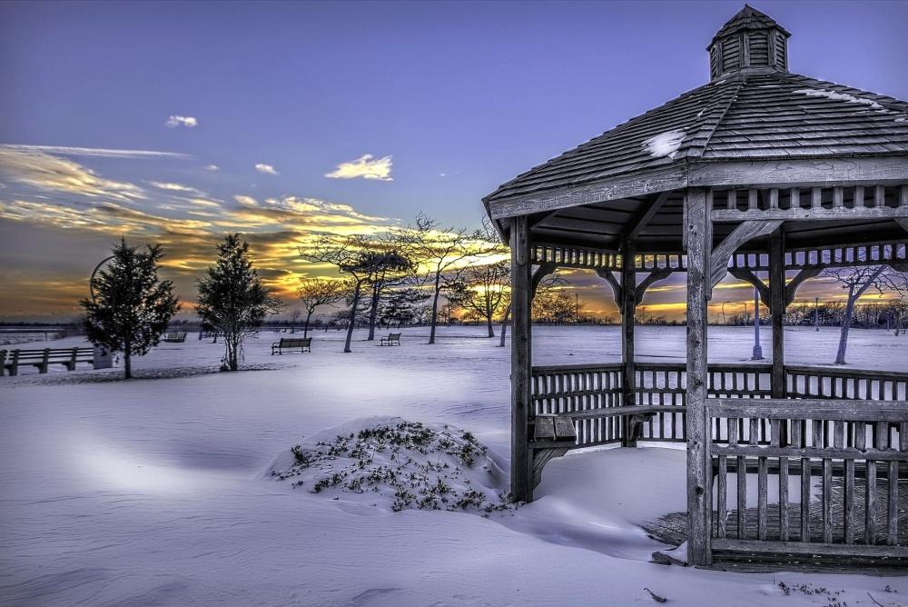 snow, exterior, winter, sky, nature, resort, cold, landscape