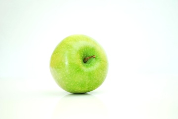 apple, food, fruit, green