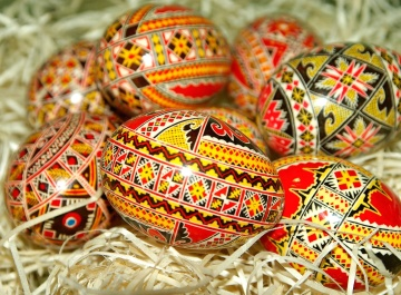 Easter, decoration, egg, celebration, handmade, religion
