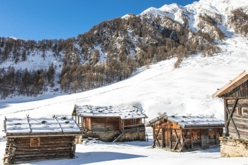 snow, winter, cold, chalet, wood, mountain, ice, cabin, frozen
