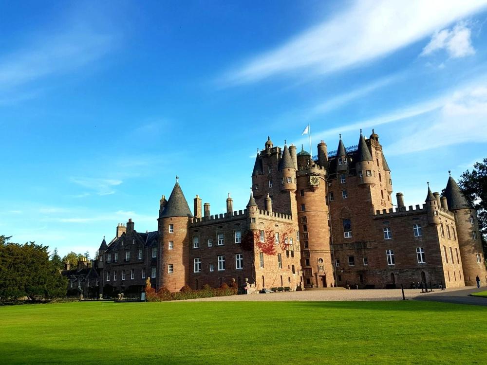 Château, architecture, extérieur, ancien, fortification, repère, structure, ciel, ancien