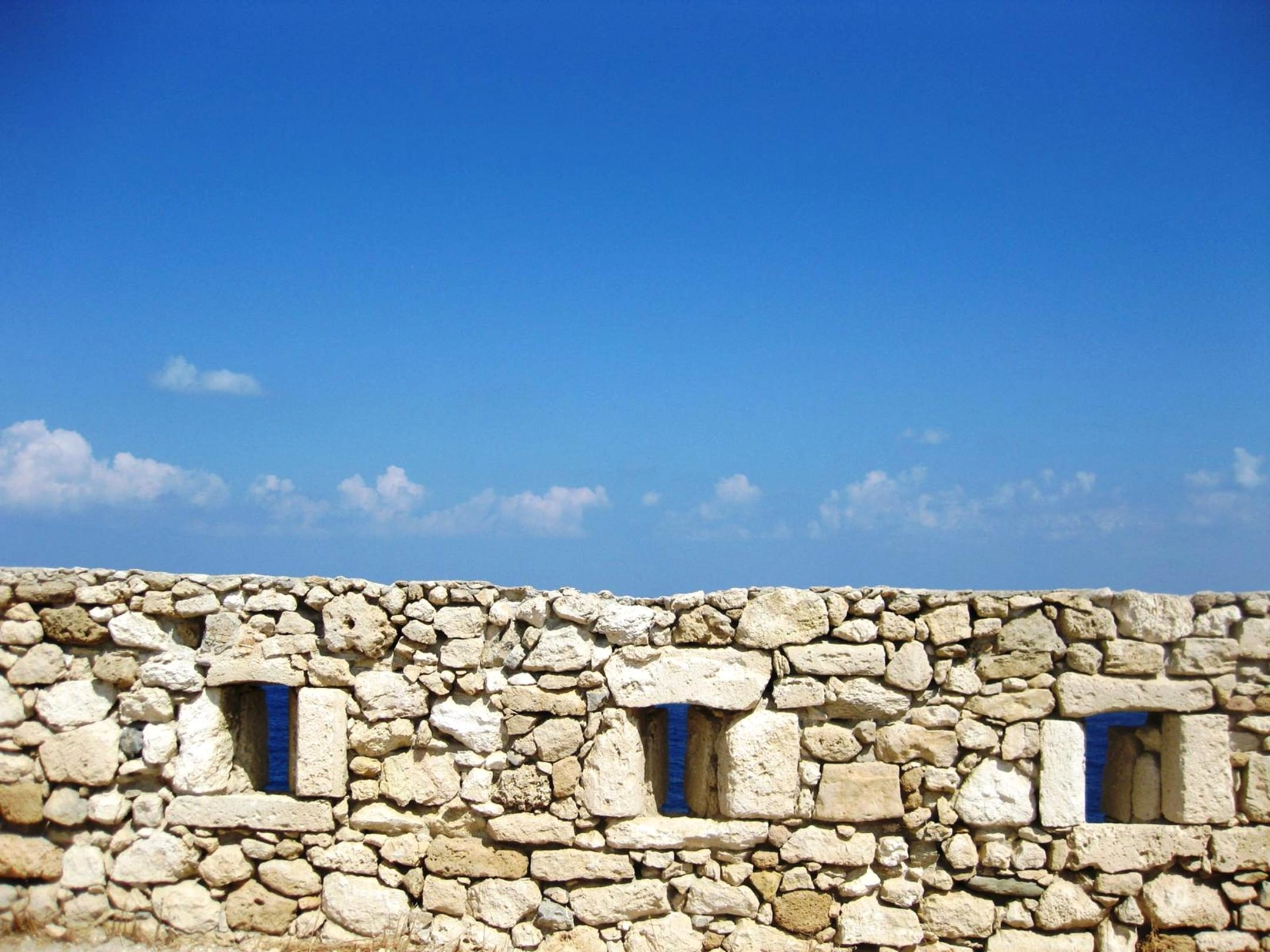 Free Picture Architecture Ancient Stone Old Wall Sky