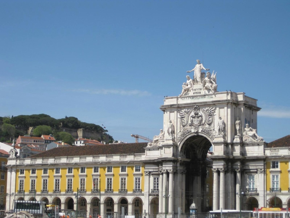 architecture, city, palace, castle, landmark, downtown, exterior, street